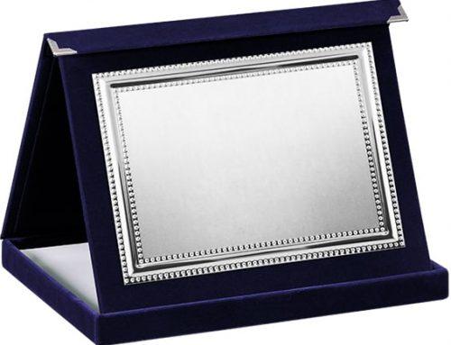 плюшен плакет лукс с кутия 182103
