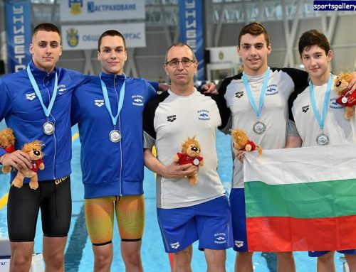 Комен къп Бургас – успех на българските плувци